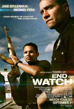 Watch End of Watch Online Putlocker