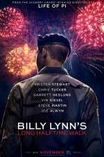 Watch Billy Lynn's Long Halftime Walk Online Putlocker