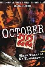 Watch October 22 Online 123movies
