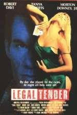 Watch Legal Tender Online Putlocker