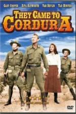 Watch They Came to Cordura Online Putlocker