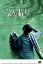 Watch Sometimes in April Online Putlocker