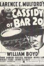 Watch Cassidy of Bar 20 Online Putlocker
