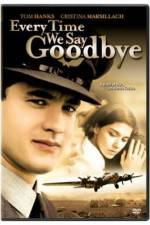 Watch Every Time We Say Goodbye Online Putlocker
