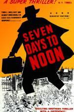 Watch Seven Days to Noon Online Putlocker