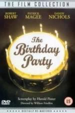 Watch The Birthday Party Online Putlocker