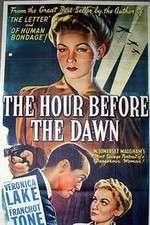 Watch The Hour Before the Dawn Online Putlocker