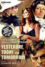 Watch Yesterday, Today and Tomorrow Online 123movies