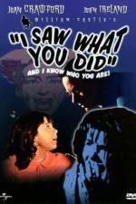 Watch I Saw What You Did Online Putlocker