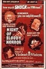 Watch Night of Bloody Horror Online Putlocker
