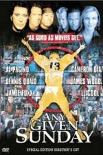 Watch Any Given Sunday Online 123movies