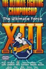Watch UFC 13 The Ultimate Force Online Putlocker