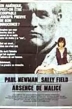 Watch Absence of Malice Online Putlocker