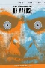 Watch Das Testament des Dr Mabuse Online Putlocker