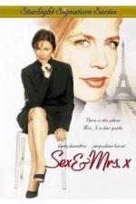 Watch Sex & Mrs X Online Putlocker
