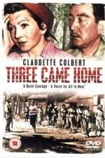 Watch Three Came Home Online Putlocker