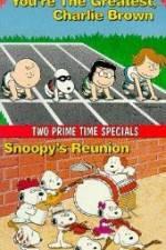 Watch Youre the Greatest Charlie Brown Online Putlocker