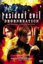 Watch Resident Evil: Degeneration Online Putlocker