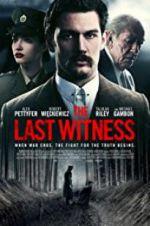 Watch The Last Witness Online Putlocker