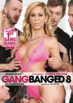 gangbanged 8 xxx poster