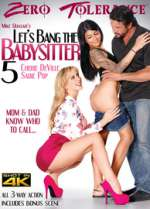 lets bang the babysitter 5 xxx poster