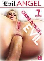 cherie deville is evil xxx poster